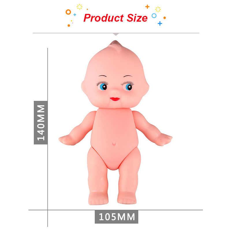 DIY Simulação Emulado Kewpie Boneca Brinquedos para o Banho Do Bebê Macio Infantil Figura Artesanato para Crianças Renascer Newborn Boy Girl Presentes de Aniversário