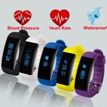 DB03 умный браслет часы измерять кровяное давление монитор сердечного ритма Смарт водонепроницаемый IP68 плавание Фитнес трекер Браслет