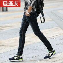 Brand Jeans Straight New Fashion Top quality High Grade Slim Jeans Straight Retro Men Denim jeans Plus Size 28-46