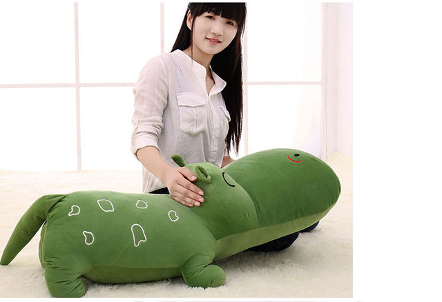 YunNasi Plush Hippo Pillow 120cm Stuffed Behemoth Squishy Toys For Children River Horse Soft Cushion Gifts Kids Toys For Girls