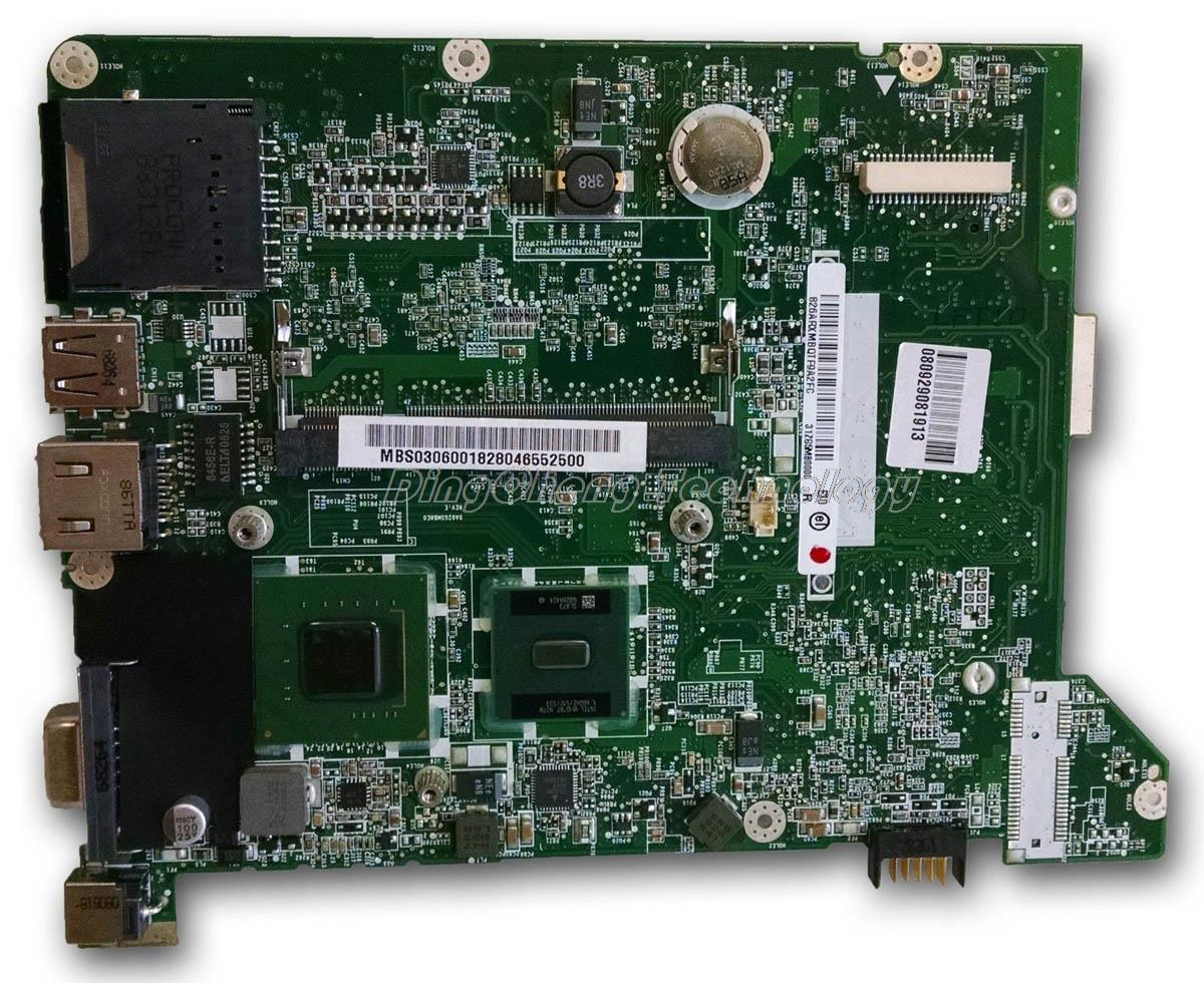 SHELI laptop Motherboard For Acer One ZG5 A150 DA0ZG5MB8G0 31ZG5MB0000 DDR2 integrated graphics card 100% fully tested mbs0506001 motherboard for acer aspire one a150 mb s0506 001 31zg5mb0010 zg5 tested good