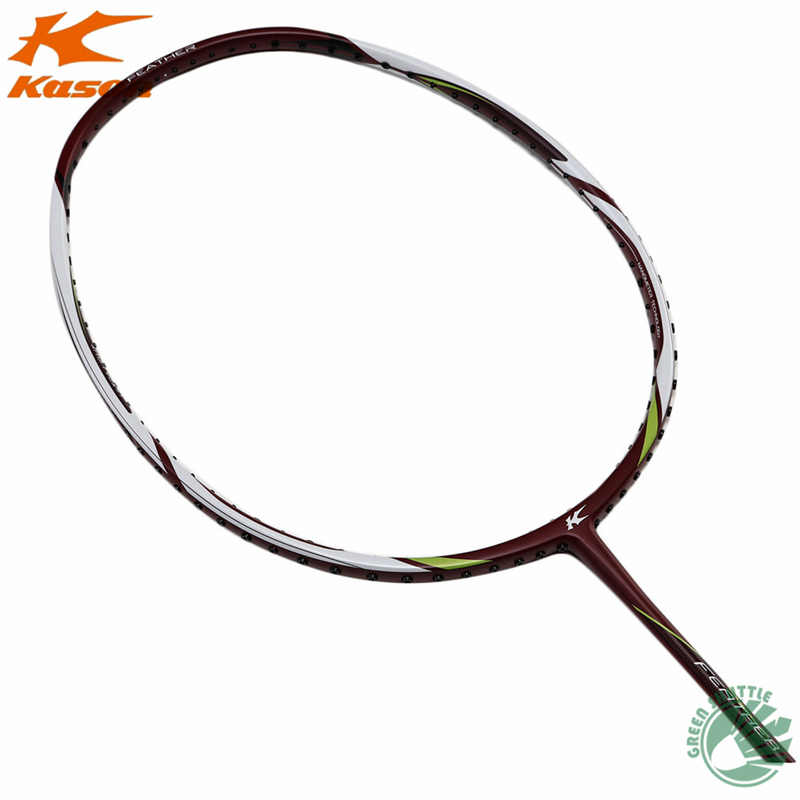 2019 New Kason Badminton Racket K520 SuperLight 5U Carbon Single Racquet With Gift Raquete