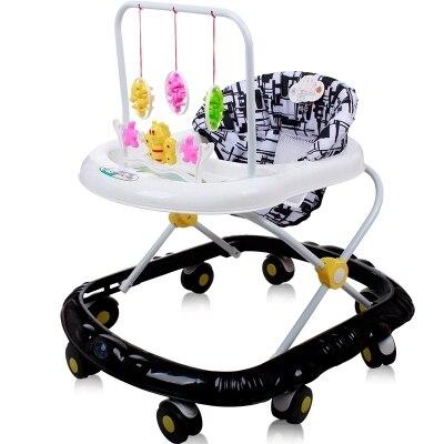 Grand bébé marche marcheur 8 roues avec musique multi-fonctionnelle Scooter voiture jouet pour enfants