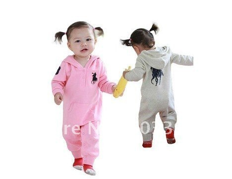 36926215 US $58.0 |Spring and Autumn baby rompers baby girl polo long sleeve with  hat rompers, baby bodysuit clothes, baby jumpsuit 6pcs/lot/C19 26-in  Rompers ...