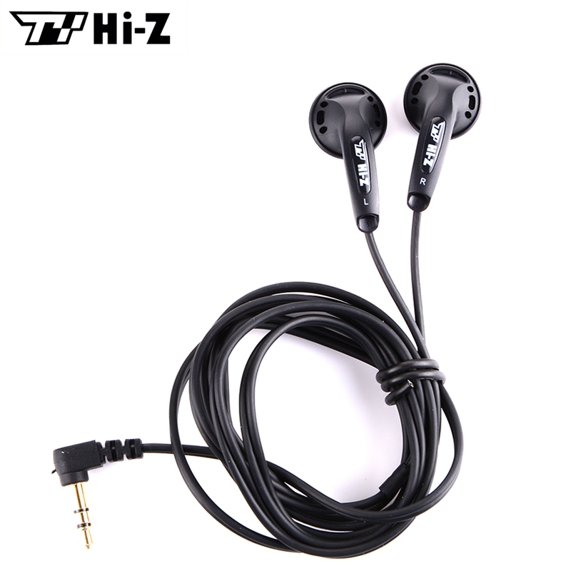 TY Hi Z 32ohm HiFi Earphone 32 Ohms Earphones In Ear Stereo Earbuds Wired Flat Head
