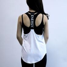 Fitness Tight Sport Yoga Shirt Dry Fit Sleeveless Sportswear Blouses Running Vest Female