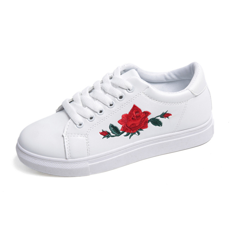 Niuce White Casual Shoes