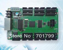 Linsn rv908 cartão para a exposição de cor cheia, com 12 porta hub75 integrada; hub75 adicional não precisava de qualquer mais