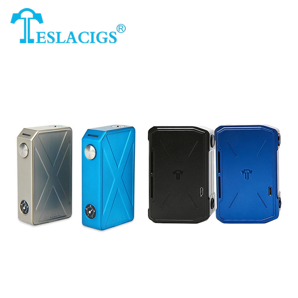 100% Original Tesla Invader 3 240W VV MOD VS Tesla Invader 4 VV Box MOD 280W NO 18650 Battery Electronic Cigarette Mod