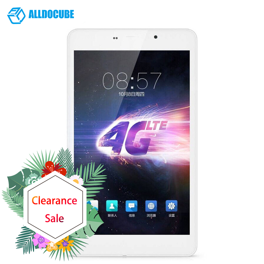 "Alldocube T8 Ultimate Plus 4g Lte Tablet Pc 8"" Ips 1920x1200 Android 5.1 Tablets Mtk8783 Octa Core Phone Call 2gb Ram 16gb Rom(China)"