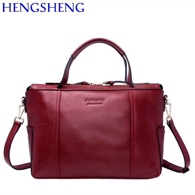 Hengsheng quality genuine leather women shoulder bags for fashion ladies messenger bags women crossbody bag and girls handbag