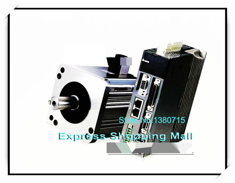 ECMA-G11303RS ASD-A2-0421-M 400W 0.4KW 2.86NM 1000r/min AC Servo Motor & Drive kits 400w delta ac servo motor and drive with brake and oil seal new asd a2 0421 u ecma g11303ss