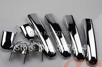 Higher star ABS chrome 8pcs car door handle decoration protection cover For VOLKSWAGEN JETTA 2006 2010|car door handle cover|abs chrome|door handle cover -