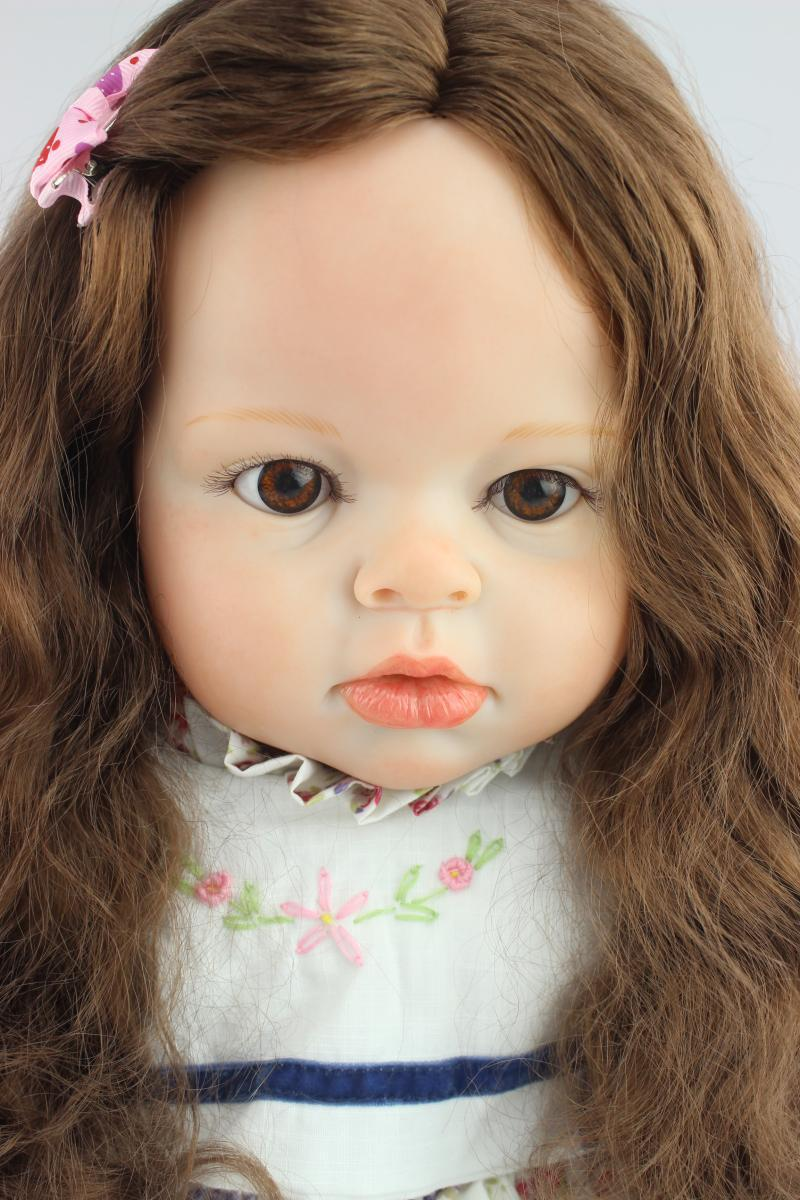 Aliexpress.com : Buy Real Life Size Silicone Doll 28 Inch Doll ...