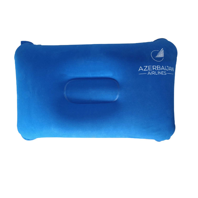 7 Colors Inflatable Travel Folding Neck Pillow 4