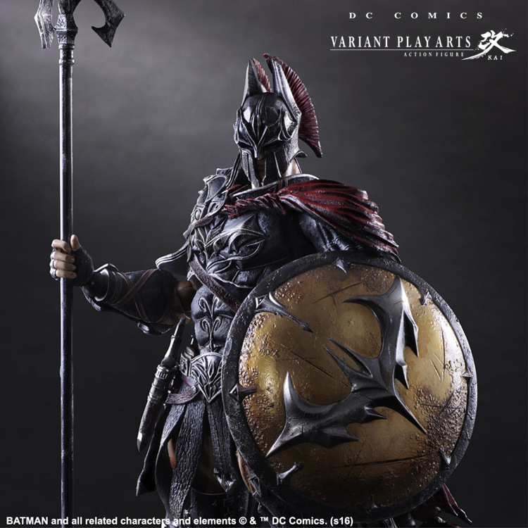 Batman Play Arts Kai 1/6 scale painted figure Variant variable Ver. Timeless Spartan PVC Action Figures Collectible Model Toys anime super sonico winter clothes ver 1 6 scale pre painted sexy pvc action figures collectible model toys doll 27cm 3 colors