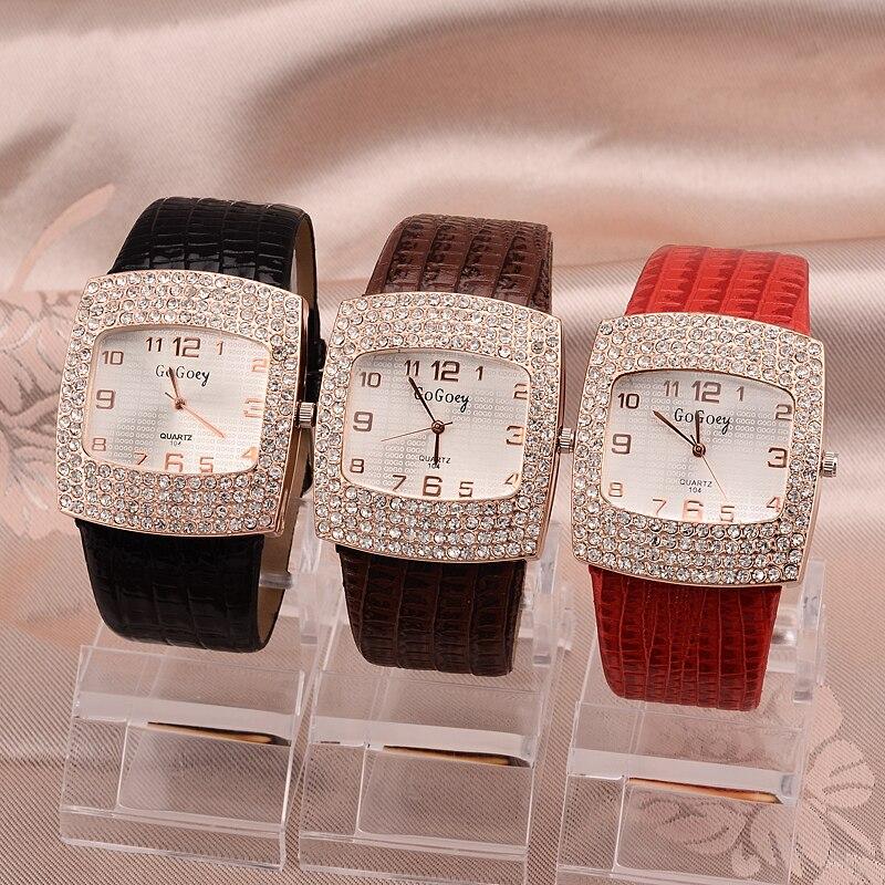 Dames Horloge Beroemd Gogoey Merk Diamant Decoratie Horloge Dames - Dameshorloges - Foto 5