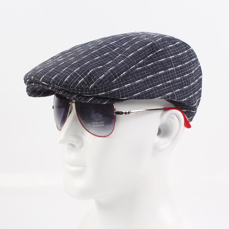 88b9321946b Dropwow New Men Casual Solid Basic Ivy Hat Cap Golf Driving Sun Flat ...