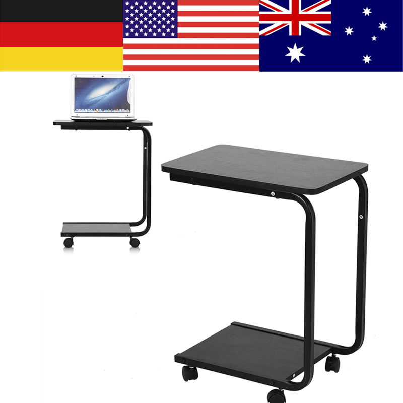 Multifunctional Computer Table With Wheels U Shape Laptop Desk Rotate Bed Can Be Lifted Standing In Desks From Furniture On