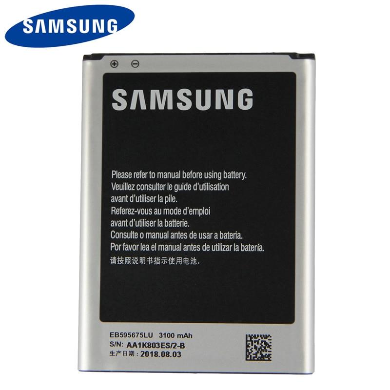 Original Samsung EB595675LU Battery For Galaxy Note 2 N7100 N7102 N719 N7108 N7108D 3100mAh