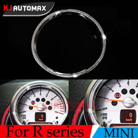 1pc For Mini Cooper R55 R56 R57 R58 R59 R60 R61 Tachometer 3D Diamond Rings Stickers Clubman Countryman Accessories Bling bling