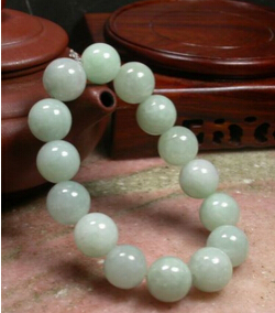 Free shipping shitou 00832 Green 100% Natural A srone Jadeite Bead Bangle Bracelet free shipping ddh006 light green natural a jadeite beads necklace lavender