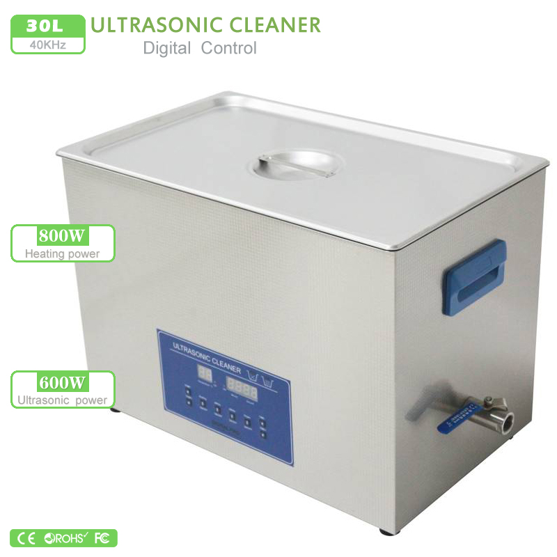 Frequency Ultrasonic Cleaner : L double frequency digital ultrasonic cleaner w ps