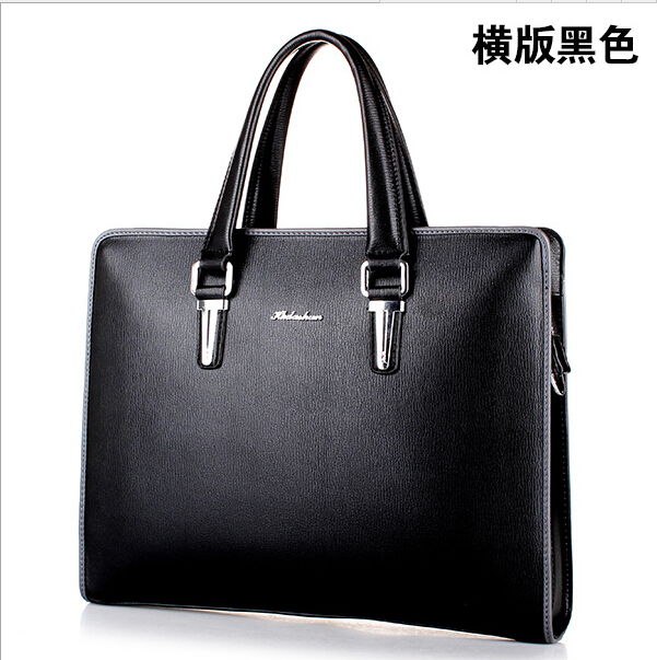 new arrive business men's bags pu leather 15 big black dress laptop  briefcase for man fashion brand male briefcase handbags какие сувениры можно купить в мукачево
