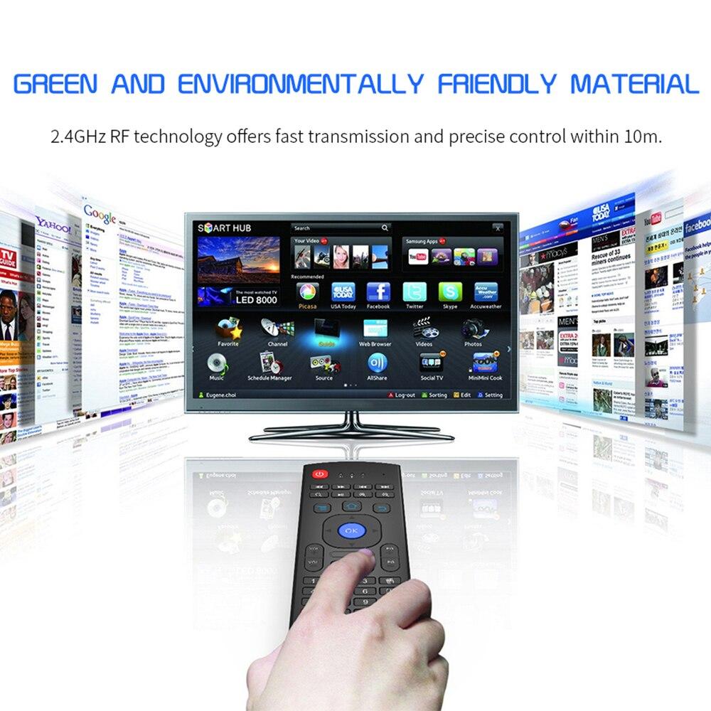 Aire Mouse2.4g Usb Inalámbrico Ratón Volador Control Remoto Nfrared Ajuste Multifuncional Mini Teclado Para Smart Tv Para Samsung Lg Descuento En Linea