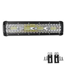 240W 6000K LED Work Light Bar Combo Offroad LED Light Bar for Tractor Boat 4WD Trucks ATV Waterproof Night Driving Lights стоимость