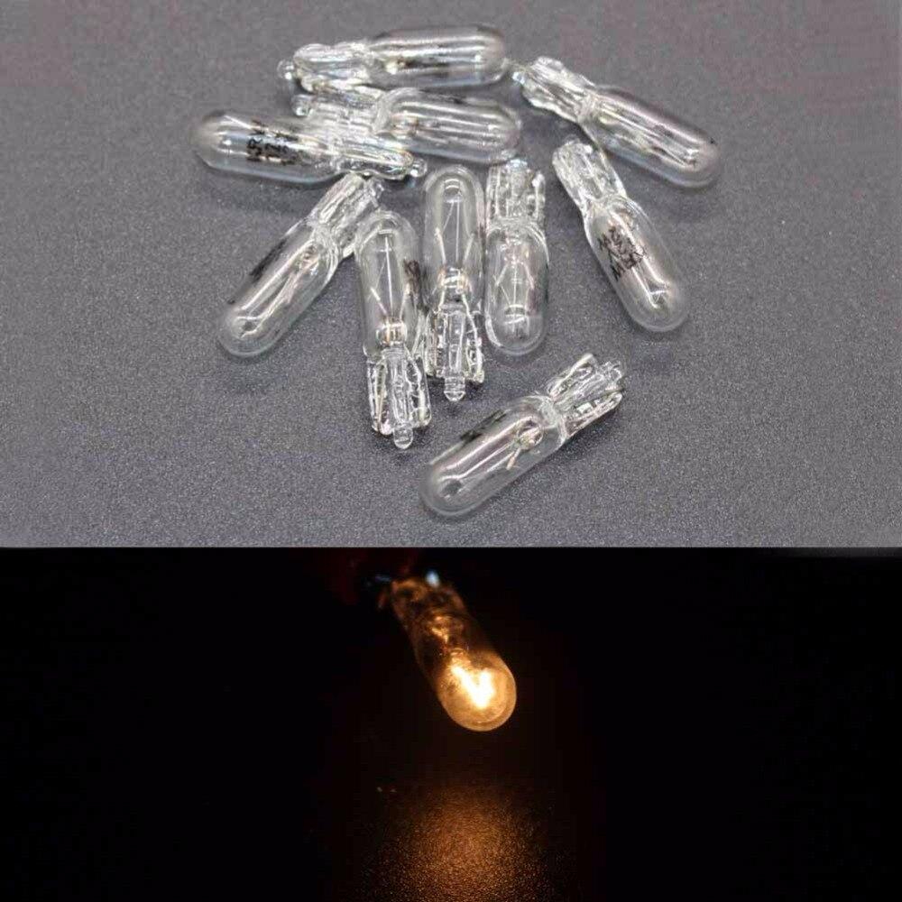 10 шт./лот 12 В 1.2 Вт 286 T5 светодиодные лампы гнездо автомобилей Клин Dashboard Калибр Подсветка приборной панели