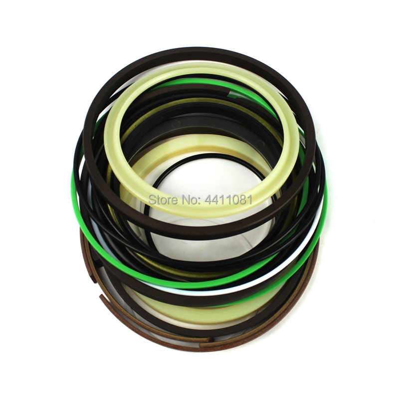 For Komatsu PC200-8 Arm Cylinder Repair Seal Kit Excavator Gasket, 3 months warranty for komatsu pc130 6k arm cylinder repair seal kit excavator gasket 3 months warranty