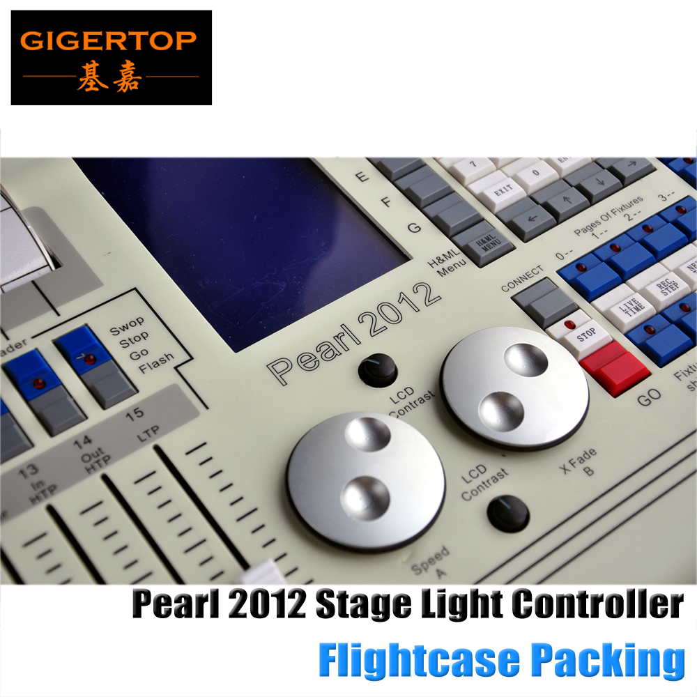 Tiger Touch Pearl DMX Lighting Controller for Stage Light, sound equipment,Splitter, Mixer Pearl 2012 Stage Lighting Console 2pcs high quality 512 dmx console stage light equipment 192 dmx controller for stage lighting led par beam lights