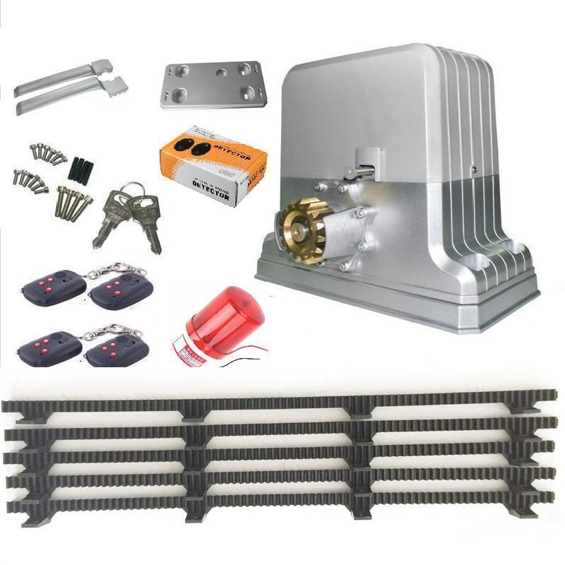 kraftig 1800 kg elektrisk automatisk skyvedørsåpnermotor 5 Nylon - Sikkerhet og beskyttelse - Bilde 3