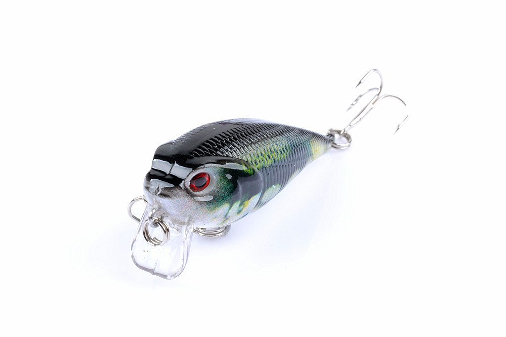 1Pcs 3D Painting Crank Lures Sea Fishing Bait 11cm/13.4g Crankbait Artificial Hard Tackle Wobblers For Pike
