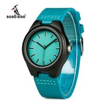 BOBO PÁSSARO Amante Marca de Luxo Vestido de Relógios de Moda Relógio De Madeira Relógio De Quartzo para Os Amantes Montre Femme Relogio masculino