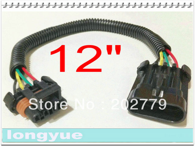 longyue 10pcs ls6 lt1 corvette oxygen o2 sensor header extension 4 longyue 10pcs ls6 lt1 corvette oxygen o2 sensor header extension 4 pin flat 30cm wire in cables adapters sockets from automobiles motorcycles on