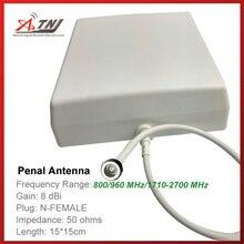 Top Qualidade + Alto Ganho 7dbi, ATNJ 800 2500 mhz Outdoor Antenna Penal para 4 3 2g g g Signal Booster