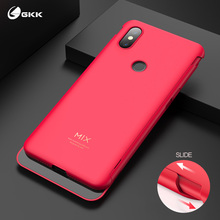GKK 2 in 1 Slide Case for Xiaomi Mi Mix 3 Double Protection Armor Shockproof Matte Cover mix Fundas Coque