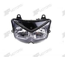 Motorcycle Clear Lens Headlight Head light Headlamp Assembly For Kawasaki Z750 ZR750 2004 2005 2006 Brand New