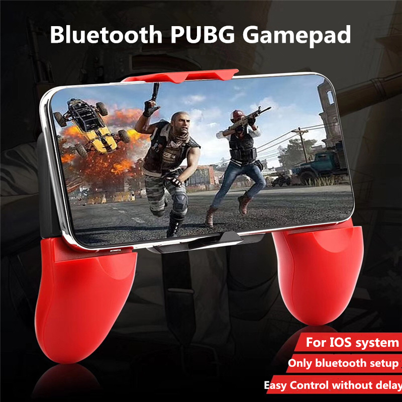 Bluetooth For PUBG Trigger Cell Phone Mobile Controller Fire Button For iOS Mobile Trigger Shooting Controller Pubg