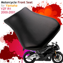 купить For Yamaha YZF-R1 2000 2001 Front Seat Cover Cushion Leather Pillow YZF R1 00 01 Motorcycle Rider Driver Seat по цене 2187.76 рублей