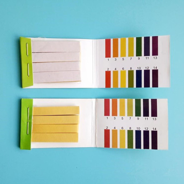 400 pièces PH bandelettes de Test contrôleur 1-14st indicateur Litmus papier eau Kit de solilpiqûre outil de mesure PH mètre outil de Test