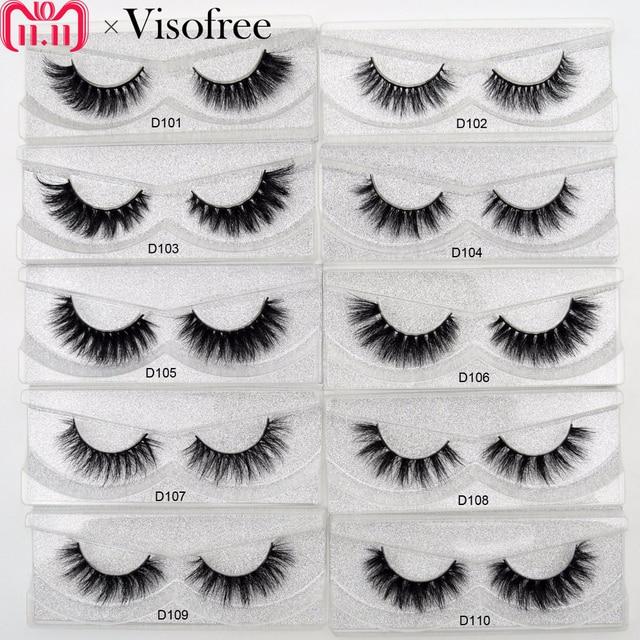 Best Price Lash Natural False Eyelashes 3d Real Mink Lashes Soft