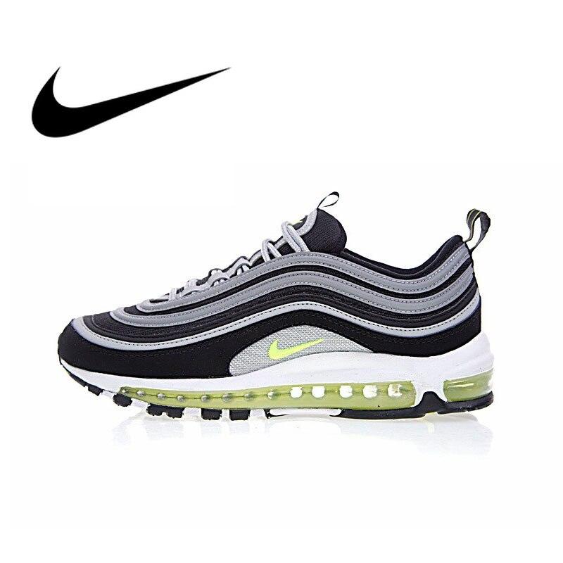 Оригинальный Nike Оригинальные кроссовки Air Max 97 Для мужчин дышащие Беговая спортивная обувь уличные кроссовки спортивная Дизайнерская обувь