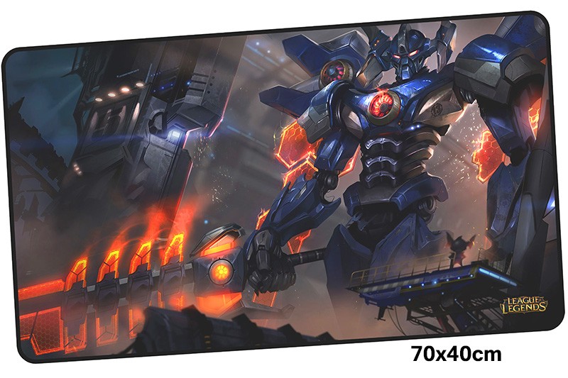 aatrox mousepad gamer 700x400X3MM gaming mouse pad large High quality notebook pc accessories laptop padmouse ergonomic mat