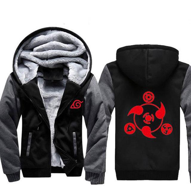 Naruto Akatsuki Cosplay Luminous Jacket Male