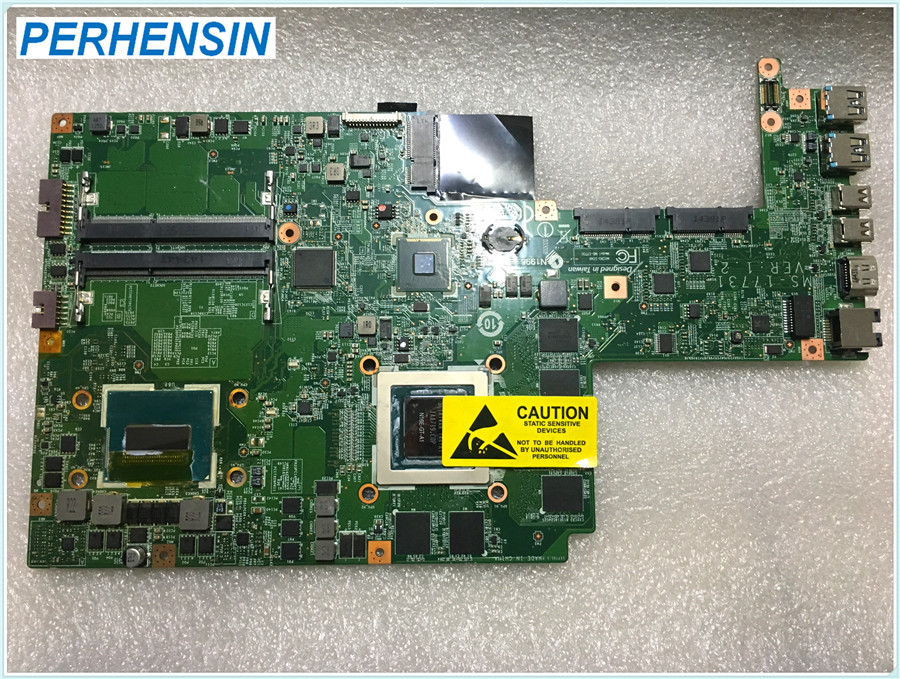 MS-17731 For MSI GS70 Laptop Motherboard i7-4720HQ SR1Q8 GTX970M MS-1773 100% WORK PERFECTLY motherboard for msi a6200 ms 16811 ver 1 1 model 100
