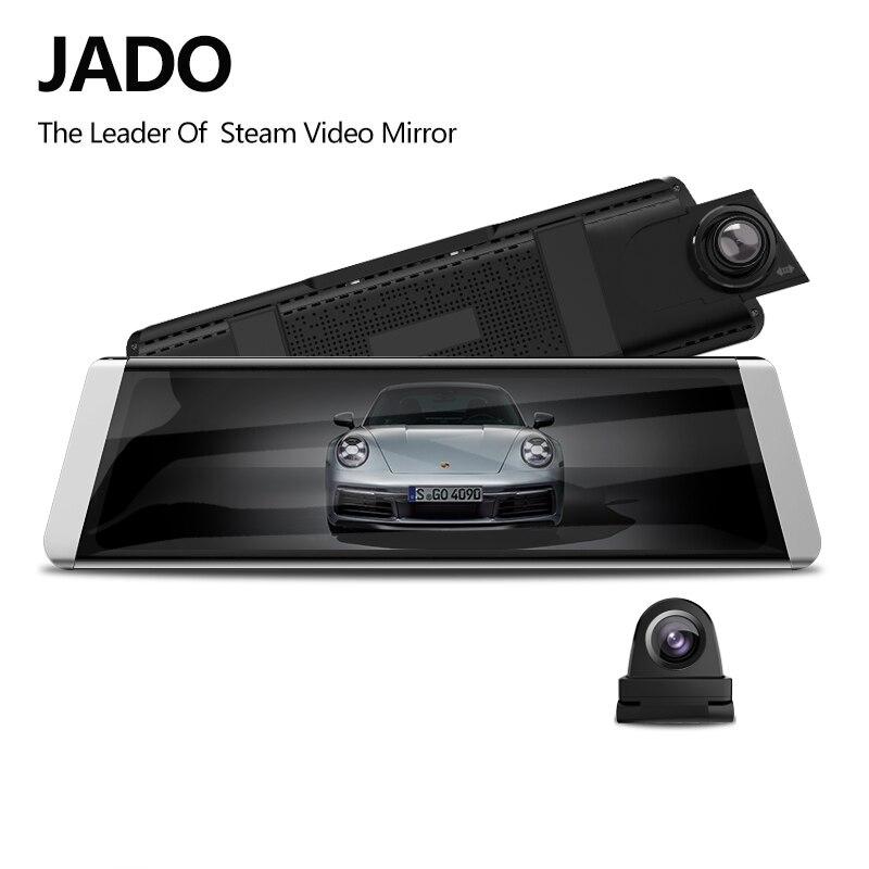 JADO Car-Dvrs Track Rearview-Mirror-Ldws Dash-Cam Touch-Screen Stream 1080P Full-Hd X3