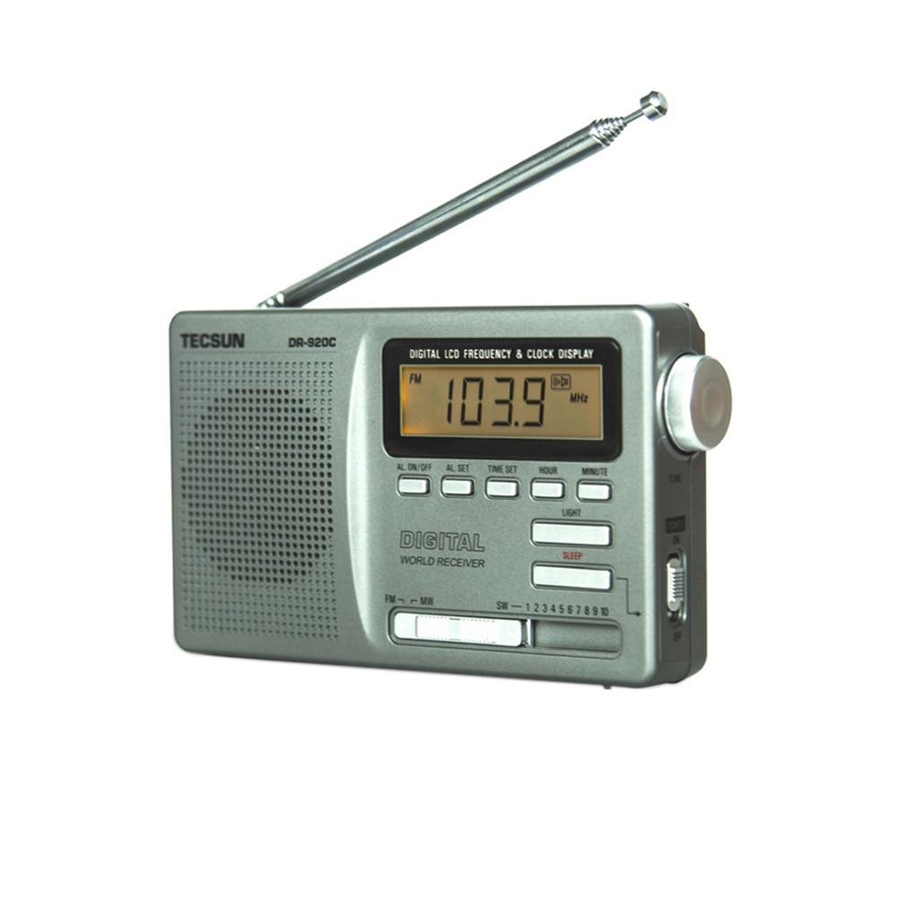 TECSUN DR-920C Digtal Afișează FM / MW / SW Radio Multi Band - Audio și video portabile - Fotografie 3